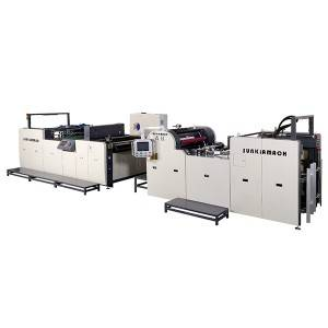 OEM/ODM China Automatic Lamination Machine - Automatic Thermal Film Lamination Machine(single or double side laminated, being optional) – Sunkia