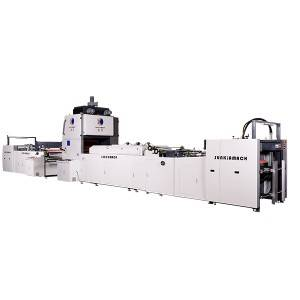 Automatic High-Speed Multifunctional Window Lamination Machine (Water-based Glue/Oily Glue/Pre-coated Film)