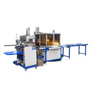 Automatic visual box positioning machine