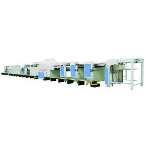 Fully Automatic High Speed Four-head UV Varnishing Machine(multifunctional type)Dyeing, Tactility, Matte Oiling