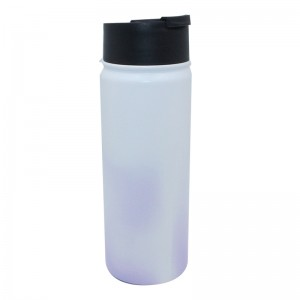 Fixed Competitive Price Plastic Reusable Water Bottle - Double wall vacuum insulated wide mouth steel water bottle – SUNSUM
