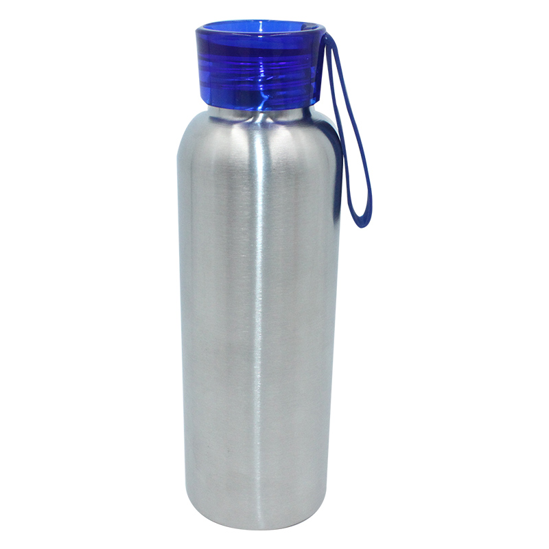 Factory Wholesale Custom Cheer Water Bottles - BPA free single wall 304 Stainless steel custom water bottle with rope – SUNSUM