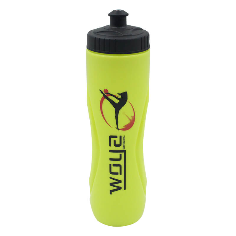 New Fashion Design For Plastic Cylinder Water Bottle - Reusable No BPA Plastic Sports and Fitness Squeeze Pull Top Leak Proof Drink Spout Water Bottles BPA Free customized logo and color – S...