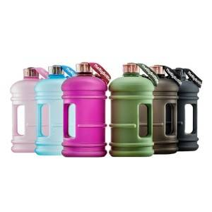 2.2 L BPA free plastic sports drinking bottle gym fitness water jug