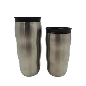 Discountable Price 14oz Stainless Steel Tumbler - vacuum insulated stainless steel double wall customized travel tumbler – SUNSUM