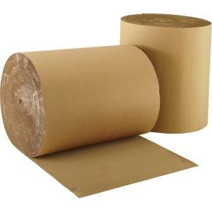 Recycled testliner board paper with brown back manufacturing in china