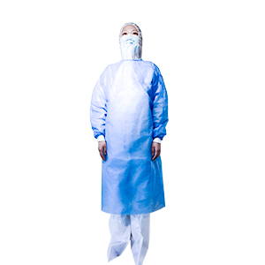 Manufacturer for Green Isolation Gown : Pe Film Coated Pp Non-Woven Fabric - Disposable  Isolation  Gown – SUREZEN