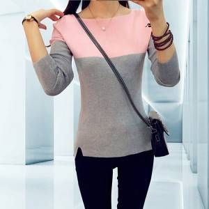 Bulk Baby Sweater - OEM Winter Loose Cashmere Mohair Knitted Pullover Sweater – Haiermei
