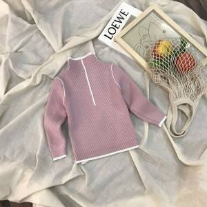 High definition Intarsia Sweater - Wholesale Baby Girls Cotton Knit Sweater – Haiermei