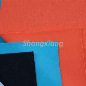 Poly fabric crepe knit fabric dress fabric