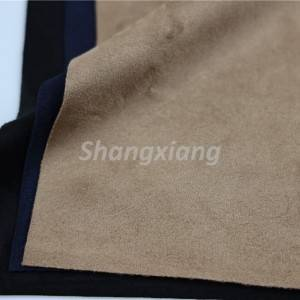 Poly fabric knit fabric suede fabric