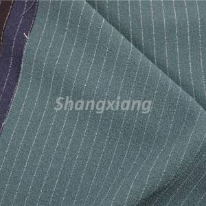 Polyester stripe fabric woven pants fabric dress fabric