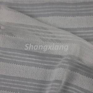 Professional Design Rib Knit Fabric - Beige Stripe fabric knit dress fabric Top fabric – ShangXiang Fabric