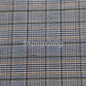OEM/ODM Manufacturer Textured Woven Fabric - TR Bengaline fabric Plaid fabric – ShangXiang Fabric