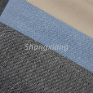 Poly Linen fabric for suits
