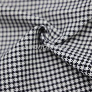 Free sample for Lightweight Cotton Fabric - NR Bengaline fabric Houndstooth Fabric – ShangXiang Fabric