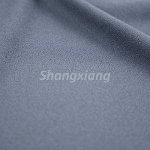 Poly fabric crepe knit fabric pants fabric