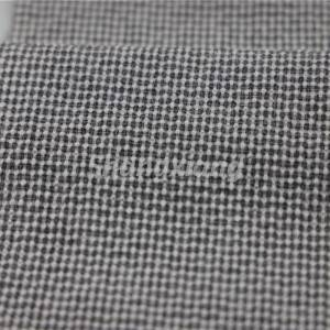 Poly fabric woven fabric crinkle fabric