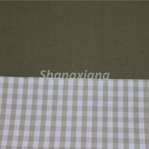 Cotton bonded double-face fabric for trench coat