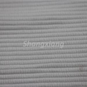 Factory directly supply Lightweight Knit Fabric - Poly fabric Ottoman knit fabric Outwear fabric – ShangXiang Fabric