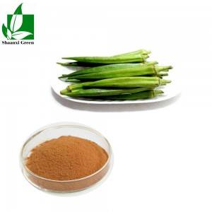 PriceList for Sophora Japonica Extract Powder - herbal long time sex medicine okra pure extract powder with competitive price – Shaanxi Green Bio-Engineering