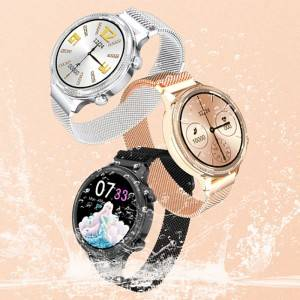 8 Year Exporter Shenzhen Smart Watches - Supporting multiple language various watch face female Cycle women smart watch M3 – anytec