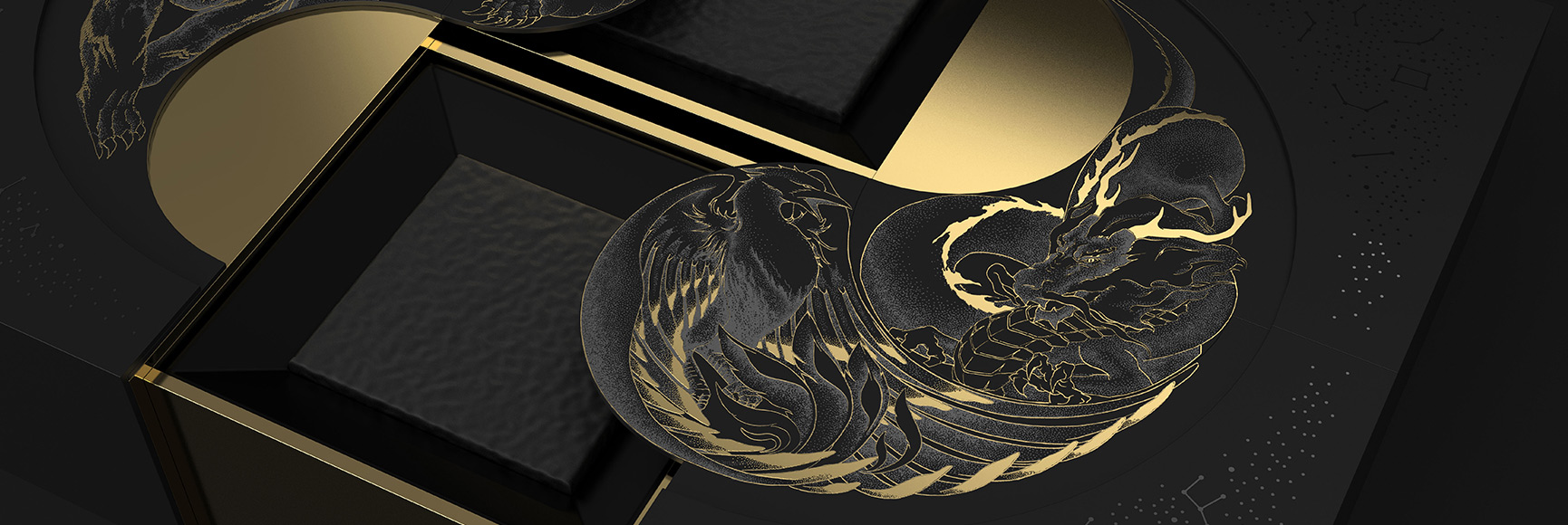 Dianhong Four Beasts Tea PR Gift Packaging Featured Image
