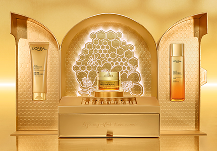 L'Oreal Royal Golden Supplement Cream PR Gift Package