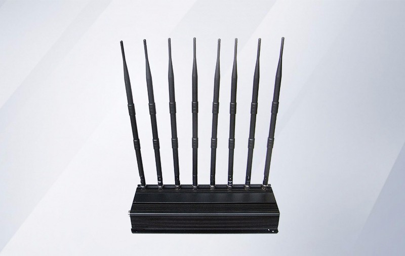 100% Original Professional Jammers For Security Agencies - Wifi 5G 8 band signal jammer – Hisea