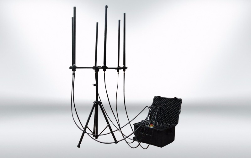 Hot-selling 3g 4g Signal Jammer - Man-pack portable UAV Done Jammer  – Hisea