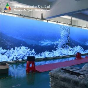 Indoor Magnetic Front Service LED Screen Custom...
