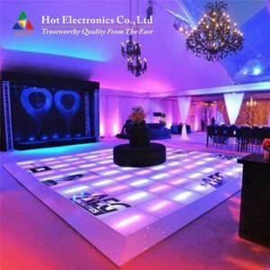 Interactive Led Dance Floor P3.91 , HD Disco Da...