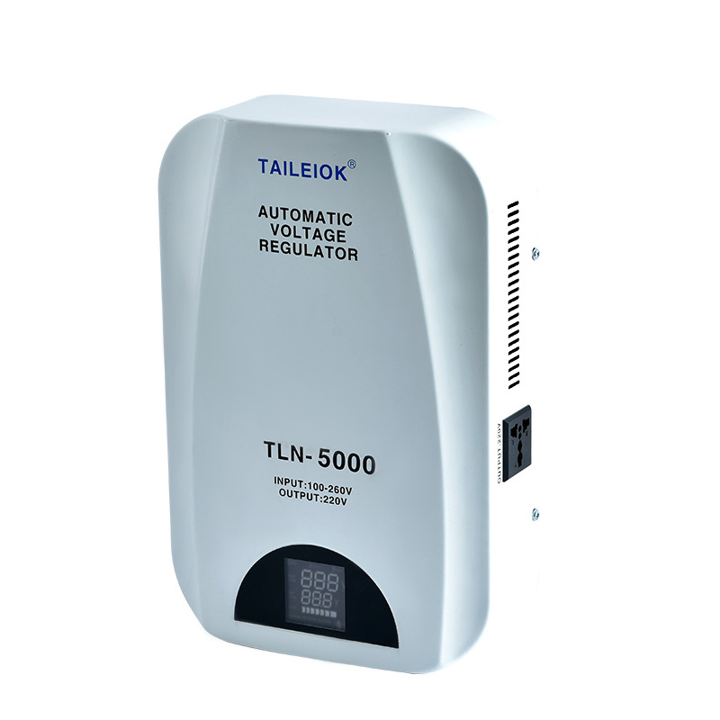 OEM Customized Wall-Mounted Voltage Stabilizers - TLN Wall Mount Voltage Stabilizer – Tailei Electric