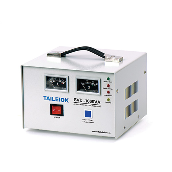 Wholesale Price Avr Auto Voltage Regulator - SVC Automatic Voltage Stabilizer Pointer Type – Tailei Electric Featured Image