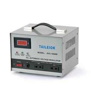 Wholesale Dealers of Ac Booster Stabilizer - SVC Automatic Voltage Stabilizer – Tailei Electric