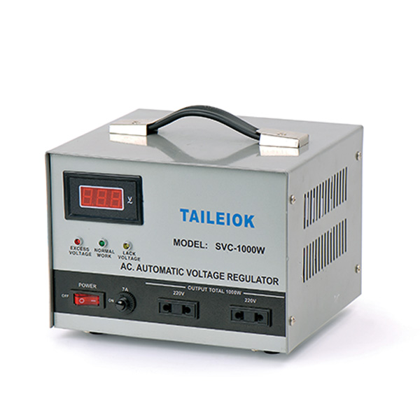 Original Factory Electronic Voltage Regulator - SVC Automatic Voltage Stabilizer – Tailei Electric