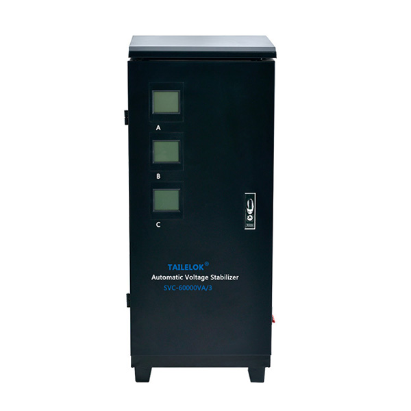 2020 Good Quality Voltage Stabilizer 3000va - SVC Digital Display (Three-phase) Automatic Voltage Stabilizer – Tailei Electric detail pictures