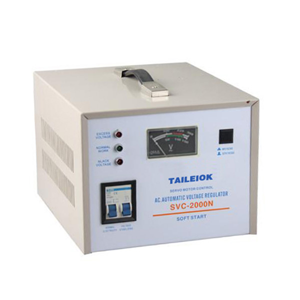 professional factory for Solid State Voltage Regulator - SVC Automatic Voltage Stabilizer Pointer Type – Tailei Electric