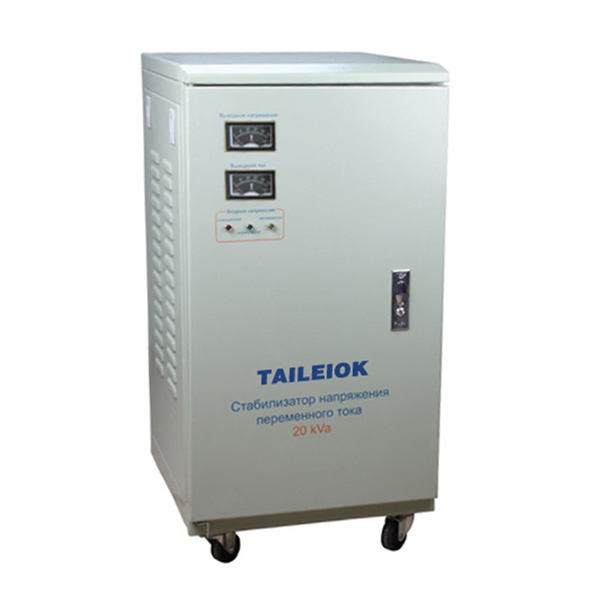 Top Suppliers Single Phase Ac Regulator - SVC-5KVA to 30KVA Virtical Type Single Phase Servo Type Voltage Stabilizer Analog Meter – Tailei Electric detail pictures