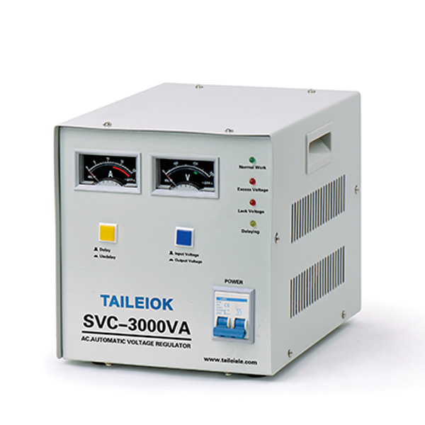 professional factory for Solid State Voltage Regulator - SVC Automatic Voltage Stabilizer Pointer Type – Tailei Electric detail pictures