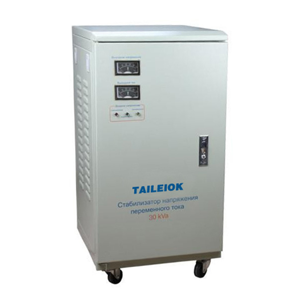 Hot-selling Kegunaan Automatic Voltage Regulator - SVC-5KVA to 30KVA Virtical Type Single Phase Servo Type Voltage Stabilizer Analog Meter – Tailei Electric