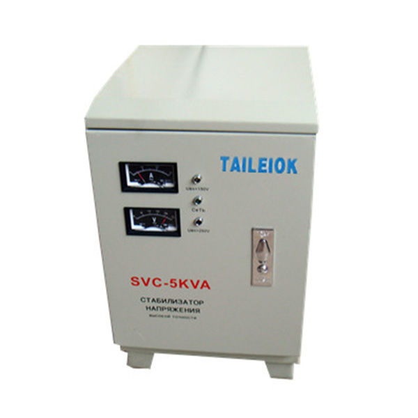 Good Quality Automatic Regulator Voltage - SVC-5KVA to 30KVA Virtical Type Single Phase Servo Type Voltage Stabilizer Analog Meter – Tailei Electric