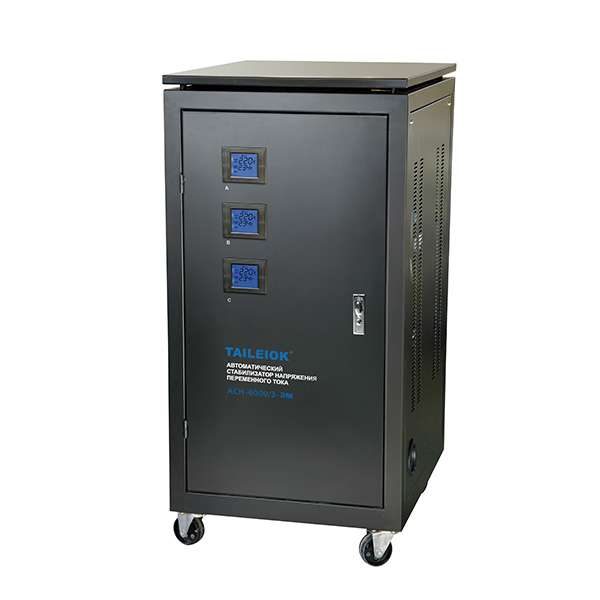 Best-Selling Solid State Voltage Stabilizer - SVC Digital Display (Three-phase) Automatic Voltage Stabilizer – Tailei Electric
