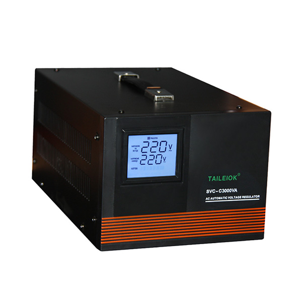 Reasonable price Apa Itu Automatic Voltage Regulator - SVC-C Automatic Voltage Stabilizer LED meter display – Tailei Electric