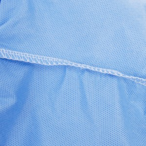 Tongee Emergency medical supplies disposable blue medical protective coverall clothing