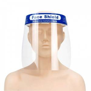 Super Lowest Price Dental Hygiene Face Shield - Factory Direct Sale Plastic Face Shield Mask – Tangji