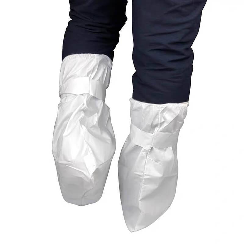 Disposable Polyester Shoe Covers white shoe cov...