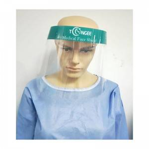 Manufacturer for Dental Face Shield - Stable performance hat transparent panel isolation face shield – Tangji