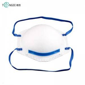 Cup shape FFP3 face mask for personal protective