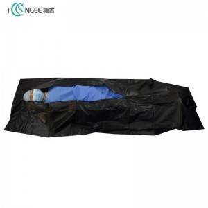 Environmental protection PVC material disposable Cadaver Coffin Funeral Body Bag